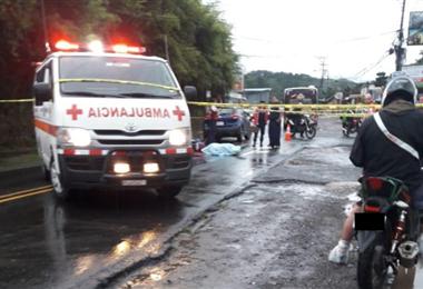 Accidente en Montes de Oca