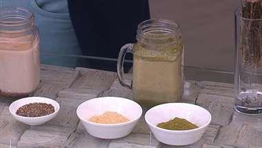 Bebidas con plantas medicinales