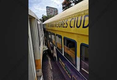 Incofer reporta incidente entre dos vagones de tren en estación del Atlántico