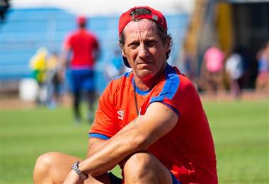 Pedro Troglio, técnico del Olimpia de Honduras | PRENSA OLIMPIA