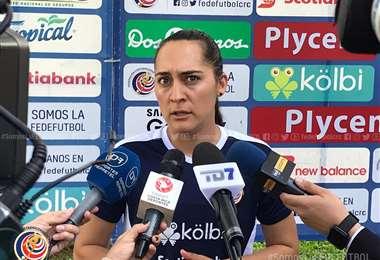 Amelia Valverde, entrenadora de La Sele   Prensa Fedefútbol