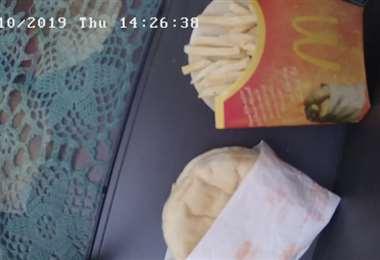 Último combo de McDonald's en Islandia