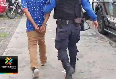 Policía de Escazú capturó a sospechoso de asaltar a joven con discapacidad
