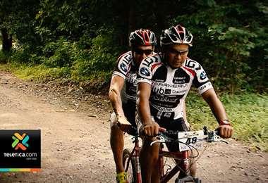 Carlos ciclista no vidente
