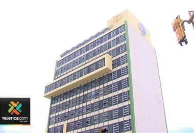 Edificio central de la CCSS.