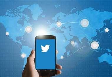Red social Twitter.
