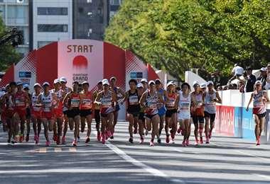 Maratón de Tokio   AFP