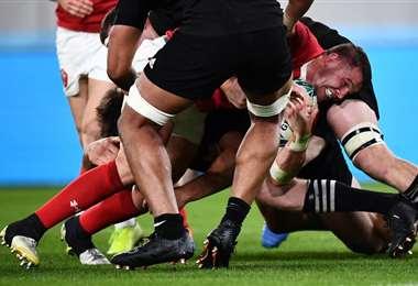 Nueva Zelanda y Gales en el Mundial de Rugby  AFP