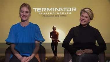 Conversamos con las protagonistas de Terminator Linda Hamilton y Makenzie Davis