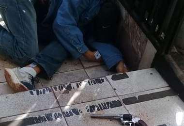 Un asaltante fallecido en Barrio Cuba