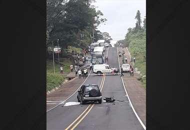 Accidente Santa Rosa de Pocosol