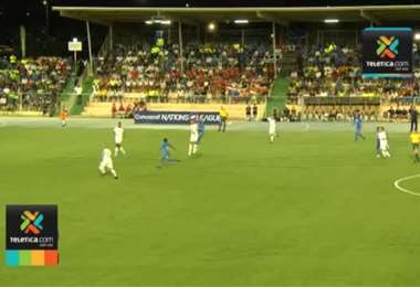 Curazao 1 - 2 Costa Rica