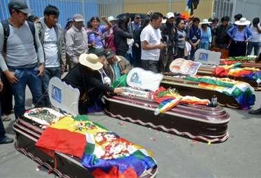 Líderes bolivianos piden fin de la violencia, AFP