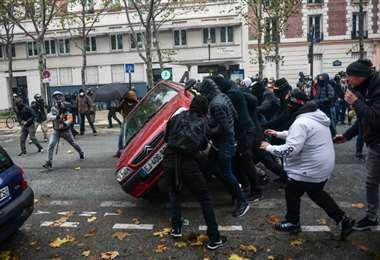 Disturbios París, AFP