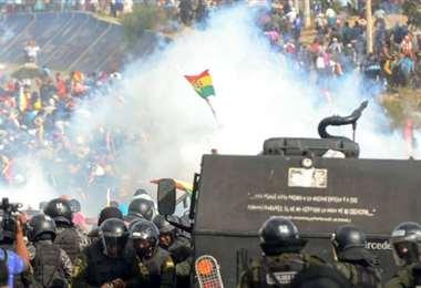 Manifestaciones, Bolivia