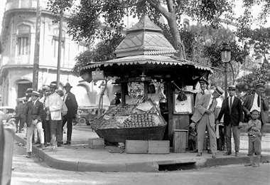Foto distribuida por la Fototeca Oficina del Historiador de La Habana.