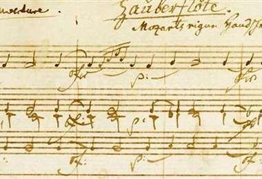 Mozart partitura
