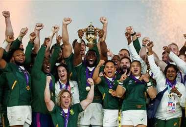 Sudáfrica campeón de rugby   AFP