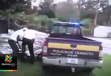 Agresiones contra oficiales de Tránsito son cada vez más violentas