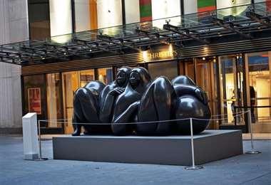 Escultura 'La Pareja'