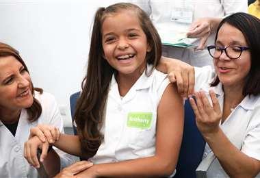 Campaña de vacunación contra papiloma humano