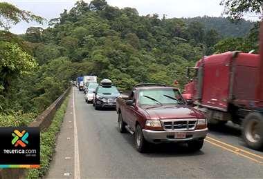 A partir de este martes habrá paso regulado en la Ruta 32, entre quebrada González y el río Sucio