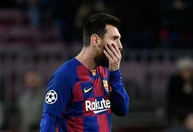 Lionel Messi, jugador de FC Barcelona | AFP