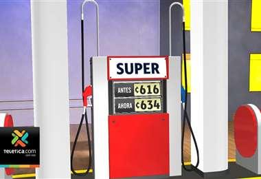 Tarifas de combustible aumentaron este martes