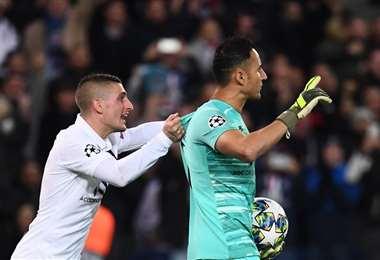 Keylor Navas, portero del PSG ante el Brujas de Bélgica | UEFA