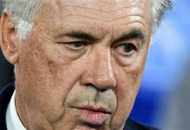 Carlo Ancelotti, técnico del Nápoles | AFP