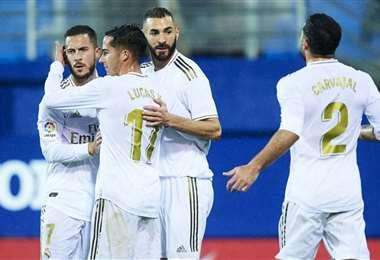 Real Madrid goleó a Eibar   AFP