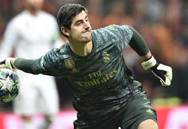 Thibaut Courtois, portero del Real Madrid   AFP