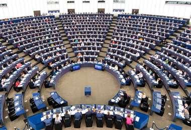Eurodiputados aprueban resolución Nicaragua. // Foto: Cortesía