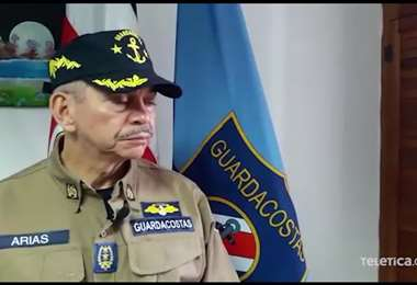 Declaraciones del comisario Martín Arias, director del Servicio Nacional de Guardacostas