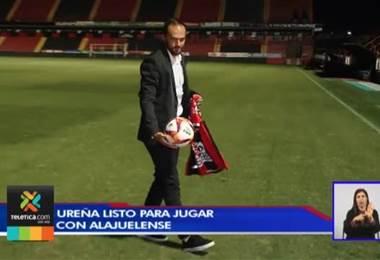 Marco Ureña asegura sentirse listo para debutar con Alajuelense