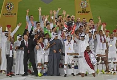 Catar ganó la Copa de Asia.|AFP