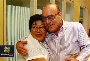Luego de trabajar 41 años en Teletica, Hortencia Ramirez , 'Tenchita' se pensiona este viernes
