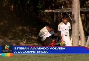 Esteban Alvarado volverá a la cancha después dos meses sin jugar