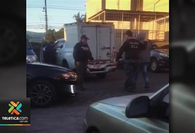 OIJ detiene a dos sospechosos del millonario atraco a sucursal bancaria dentro de Mall en Cartago