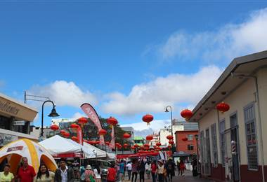 Muchos celebraron la llegada del año nuevo del cerdo en el centro de San José