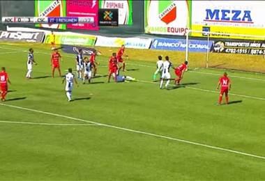 Fútbol Nacional: Carmelita 0 - 3 Cartaginés