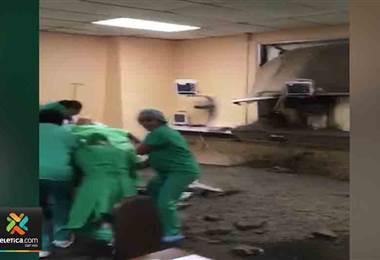 Empresa que provocó derrame de concreto en hospital de San Carlos pagará los daños causados