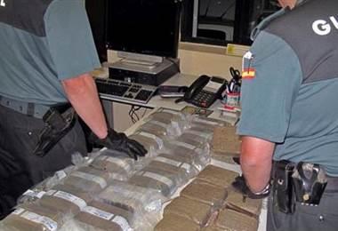 Decomiso de drogas de red en España y Francia