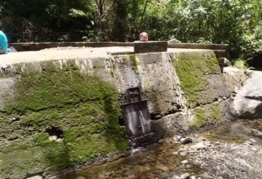 Río Tibasito seco en Heredia por el fenómeno del Niño. ESPH.