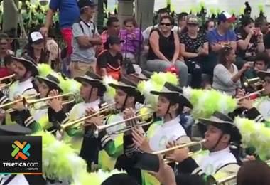 Banda Comunal de Orotina participará en el desfile de año nuevo 2020 en Londres