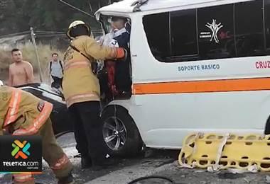 Muere la cuarta víctima del choque ocurrido en Caldera el pasado miércoles