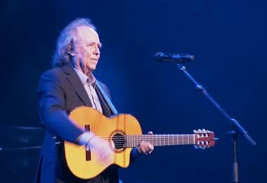 Joan Manuel Serrat ofrecerá concierto en Costa Rica