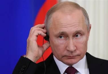 Vladimir Putin. BBC