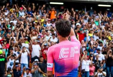 El ciclista colombiano, Rigoberto Urán.