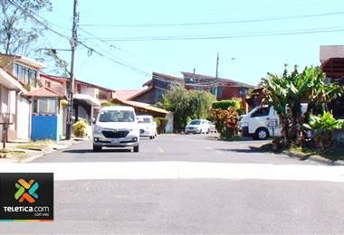 Municipalidad de Curridabat instala pasos peatonales en distintas partes del cantón